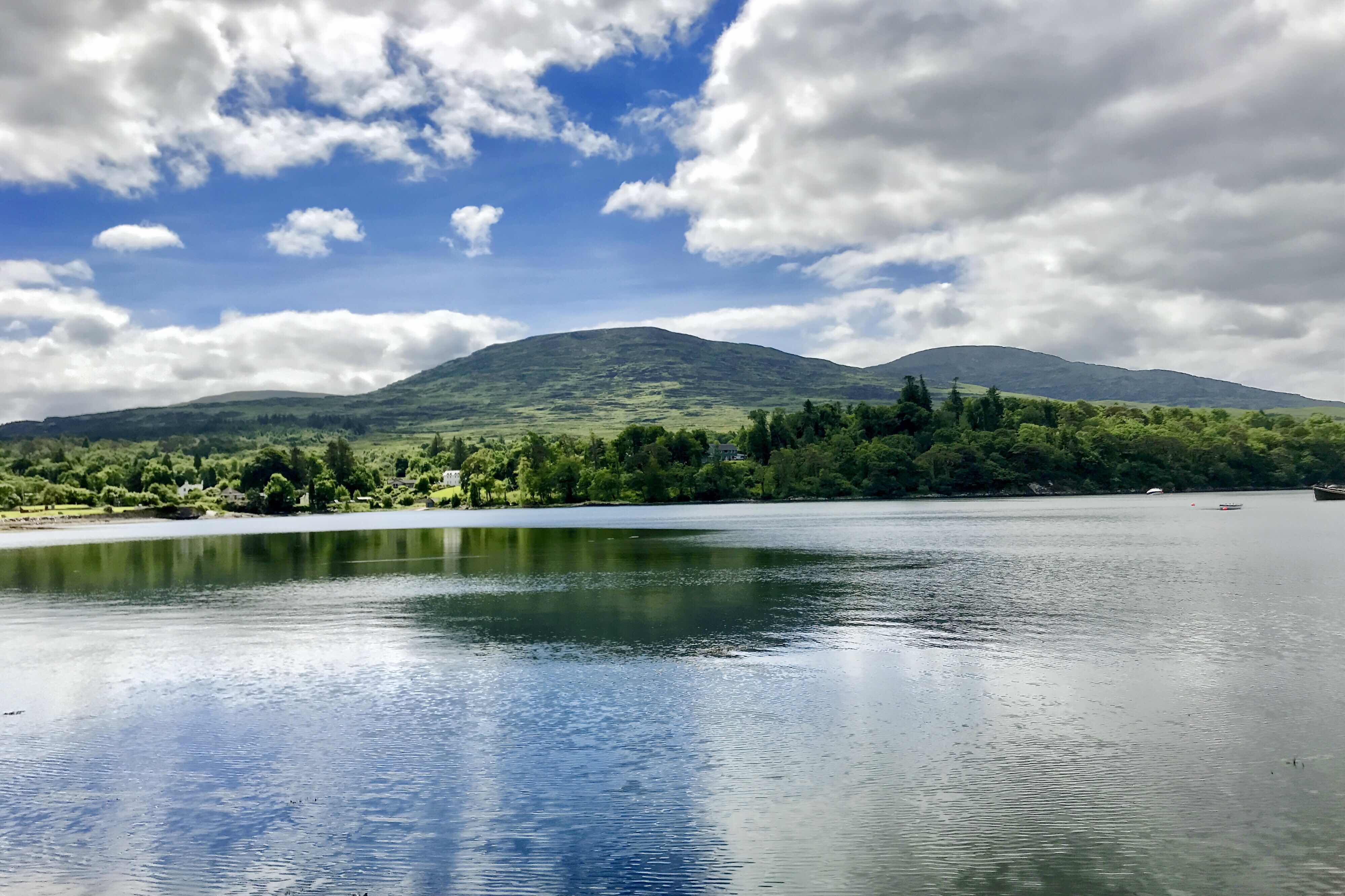 view from Kenmare Pier