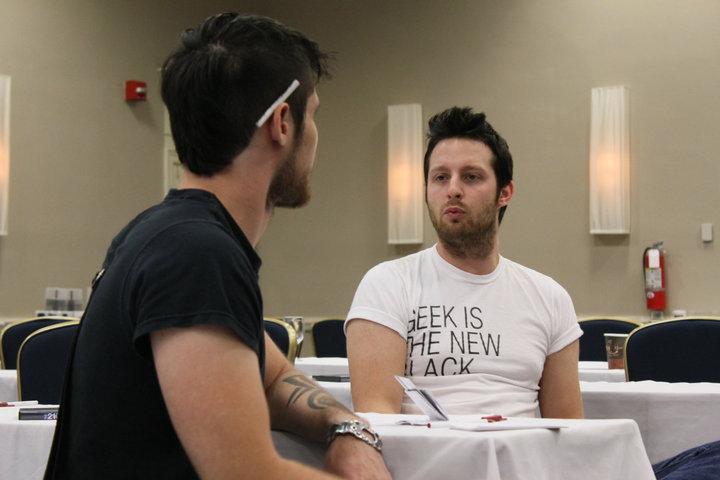 Adam Lyons With Ratisse Pua 2, Afc Adam Lyons