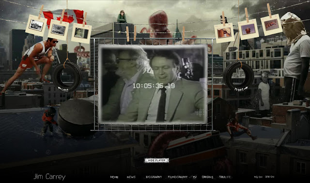 *讓我們來一窺金凱瑞的奇妙世界吧!|Jim Carrey - Official Web Site 8
