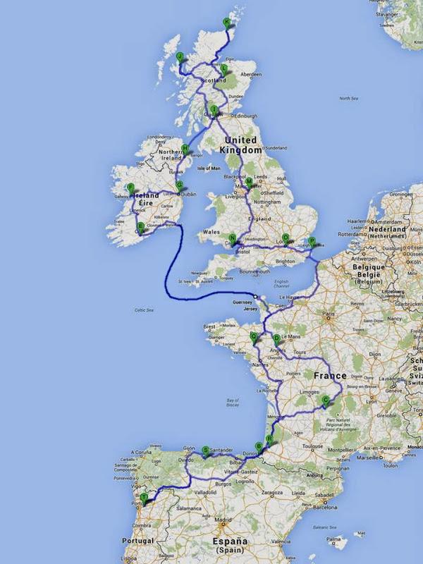 passeando - Passeando por caminhos Celtas - 2014 - Página 2 Mapa%2BGoogle