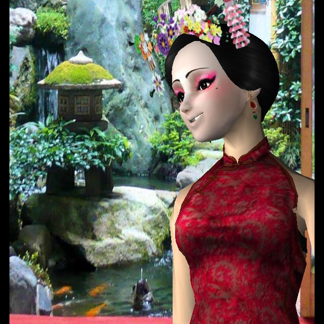 Style Me Girl Level 34 - Oriental Charm - Aoi