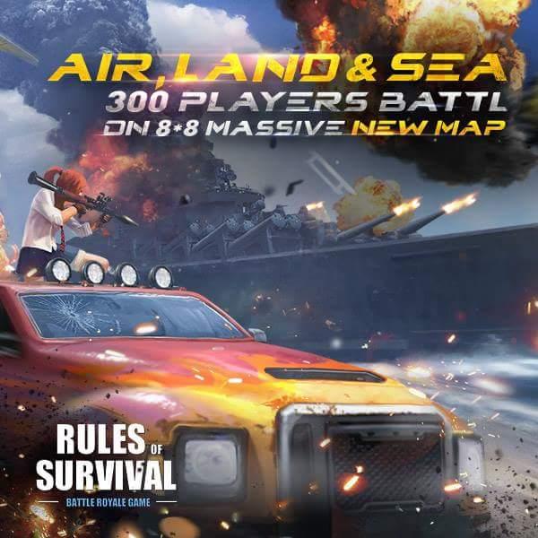 Rules of Survival Devasa Harita Güncellemesi