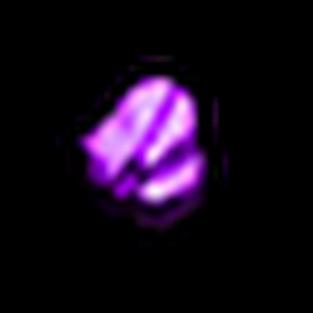 碎裂的紫寶石