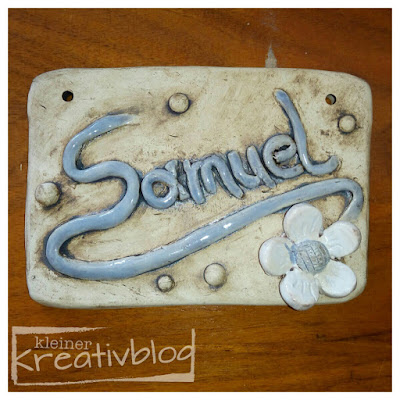 kleiner-kreativblog: Namensschild