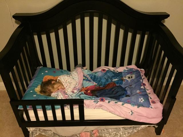Triple Braided Cord Big Girl Bed