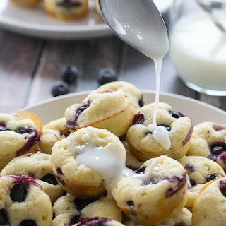 Blueberry Pancake Bites