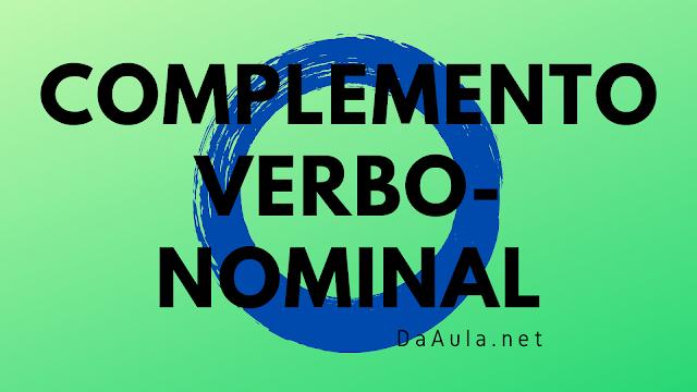 Língua Portuguesa: O que é Complemento Verbo-nominal