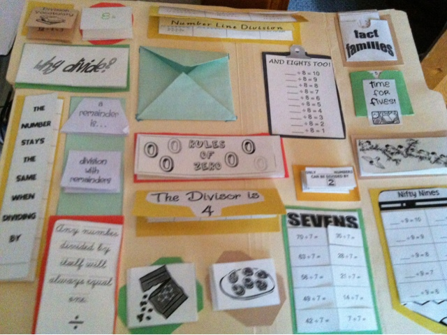Take Up and Read: A Division Lapbook for Paddy