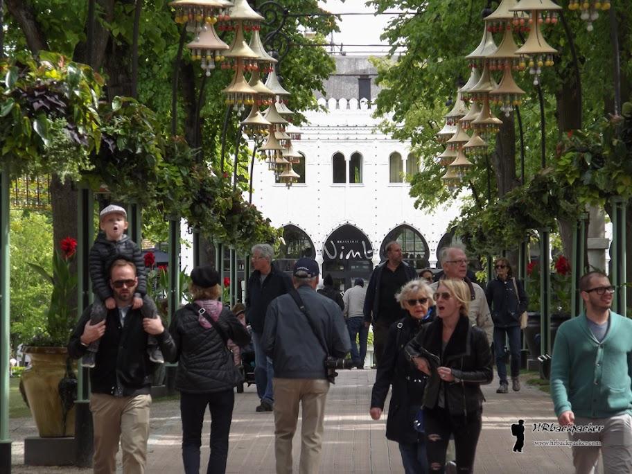 U blizini se nalazi i park Tivoli, najstariji zabavni park na svijetu te omiljeno mjesto za koncerte uživo u Kopenhagenu.