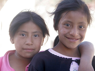 Adella and Marielle.Guatemala trip to help build school in Palanquix, Solala, Guatemala. Photos by TOM HART