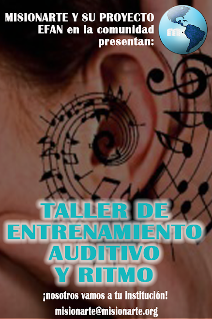 Taller de Entrenamiento Auditivo y Ritmo
