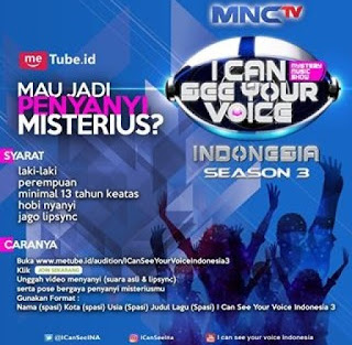 cara mendaftar audisi i can see your voice indonesia season 3 mnc tv
