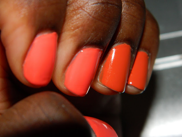 two-toned nails