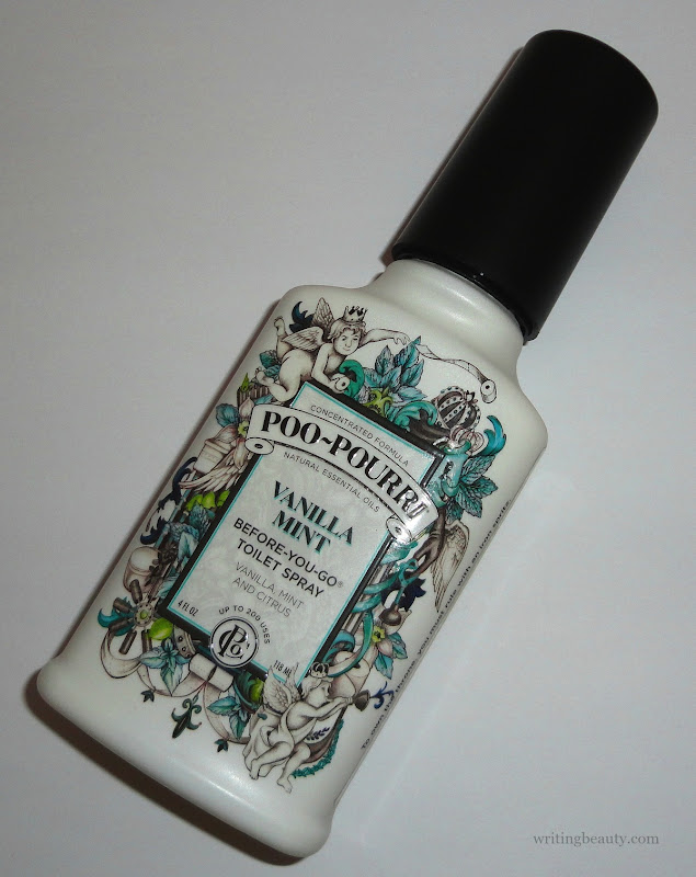 Vanilla Mint Poo Pourri review 1