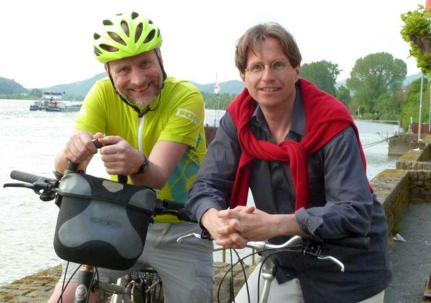 Christoph und Christian in Unkel am Rhein