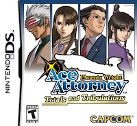 Jaquette du jeu Phoenix Wright: Ace Attorney: Trials and tribulation