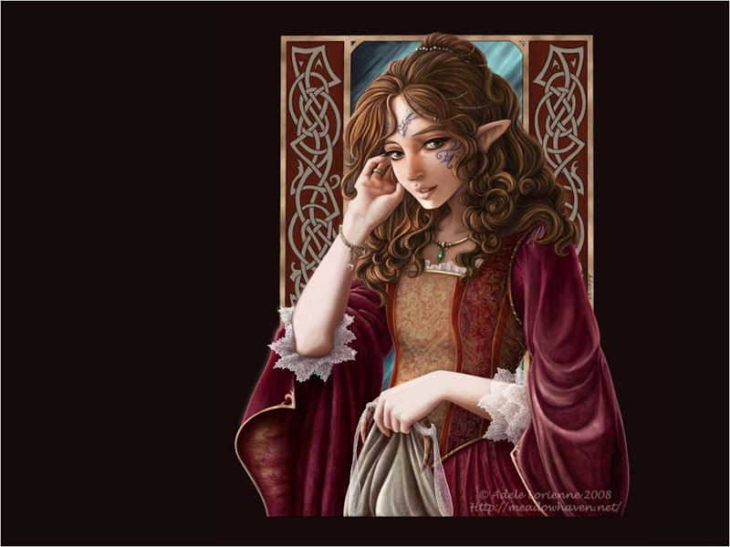 Young Charmer Woman, Elven Girls 2