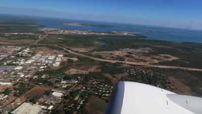 Leaving Darwin
