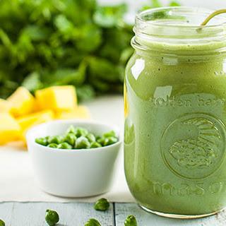 Green Garbanzo Mint Smoothie.