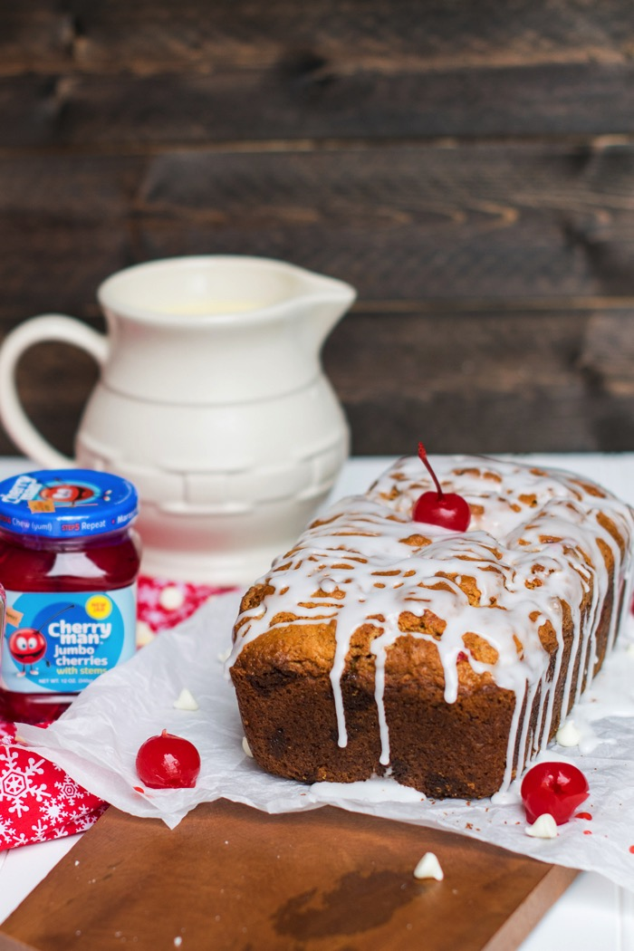 cherryman cherries in quick bread