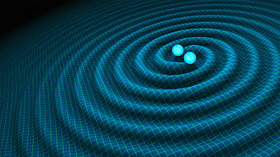 Orbiting neutron stars with gravitational waves