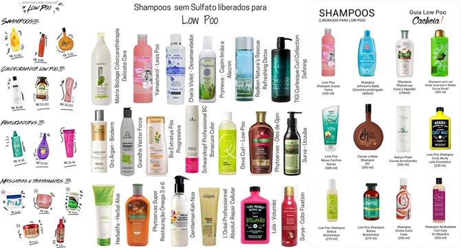 só shampoo sem sulfato