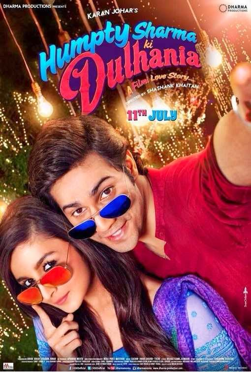 Poster Of Hindi Movie Humpty Sharma Ki Dulhania (2014) Free Download Full New Hindi Movie Watch Online At Alldownloads4u.Com
