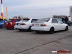 White EG sedan