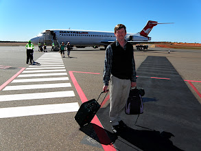 Photo: Arrival at Uluru, 3rd Aug.