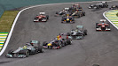 Start of the 2013 Brazilian F1 GP