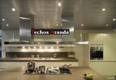 Proyectos de Techo Aluminio Cocina Madrid