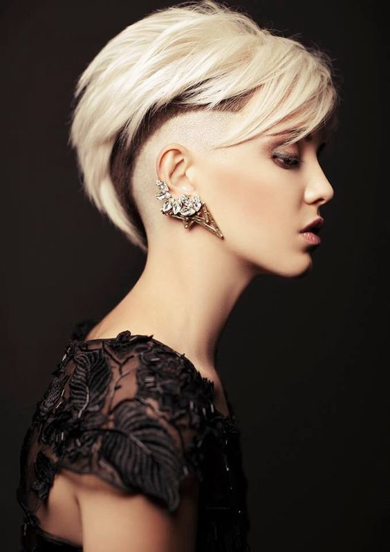Short hairstyles-trendy Attention from girls in 2017 4