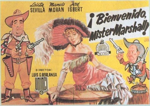Bienvenido Mister Marshall, obra maestra del cine español, dirigida por Luis García Berlanga