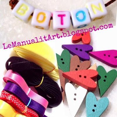 cintas y botones para coser
