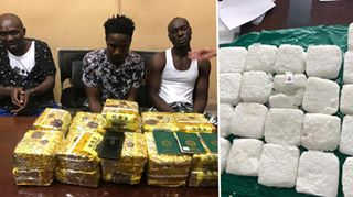 3 Nigerians Arrested With 21 Bags Of Drugs In Cambodia (Photos)
