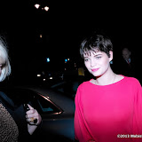 WWW.ENTSIMAGES.COM -   Pixie Geldof   at  Major David Bowie at Victoria and Albert Museum, Cromwell Road, London, retrospective showcasing some of his best known stage outfits. Sponsored by Gucci March 20th 2013                                                        Photo Mobis Photos/OIC 0203 174 1069