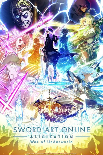 Sword Art Online Alicization – War of Underworld