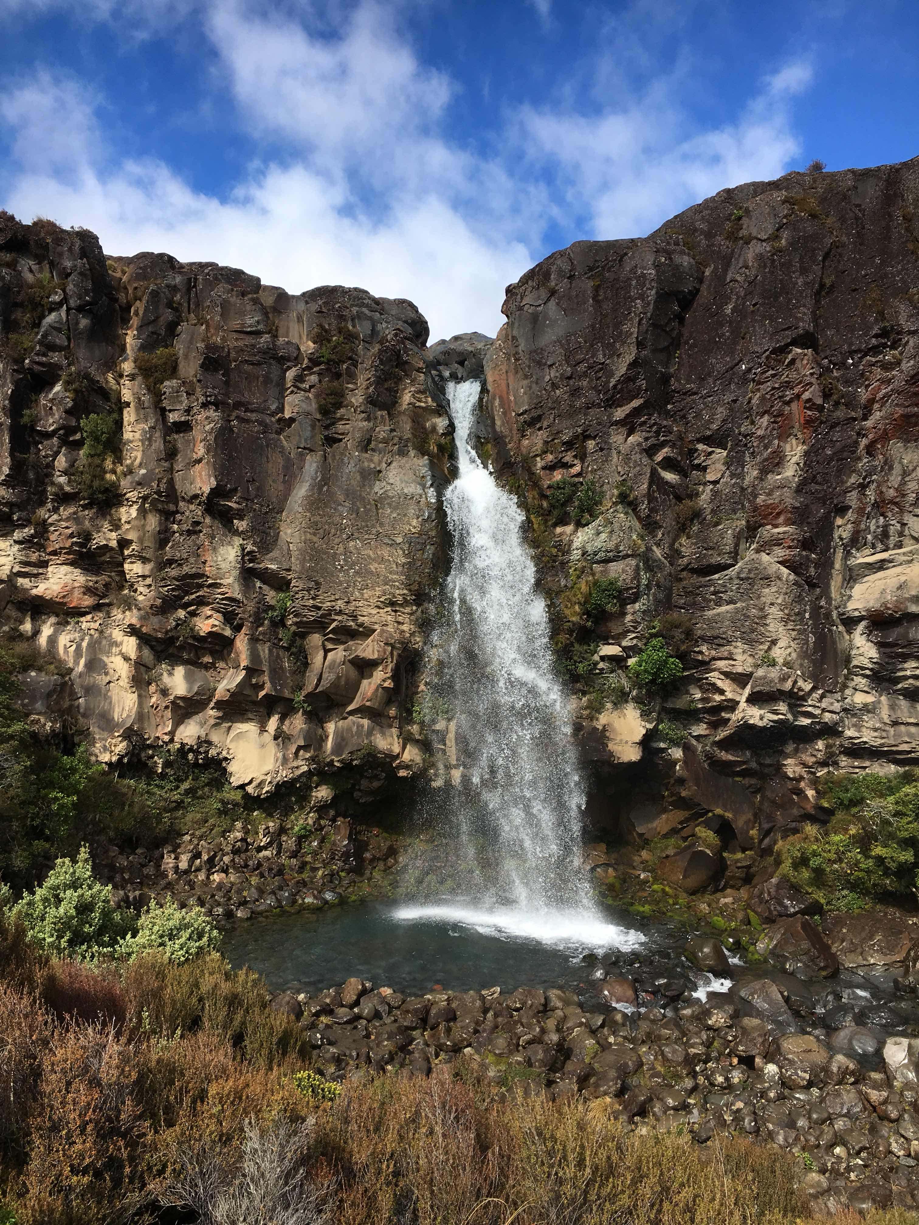 Taranaki Falls, Tongariro National Park, New Zealand