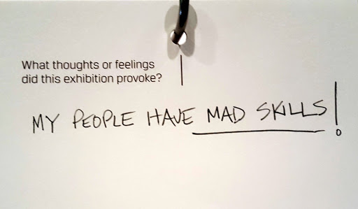 My people have mad skills!  From Love, Change, and the Expression of Thought: 30 Americans at the Detroit Institute of Arts