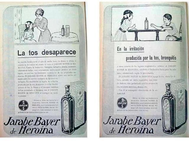 publicidad jarabe de heroína
