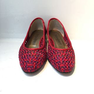Yves Saint Laurent Woven Pumps