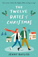 The Twelve Dates of Christmas by Jenny Bayliss, romance, romantic comedy, Christmas, holiday, seasonal, small town, cosy, cozy, winter, genre fiction, chick lit, women's fiction