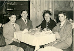 Phillip Lerner (right), with his brother Allan, and parents, Meyer and Pearl. Circa 1950.<br /> - - - -<br /> Phillip is the subject of his son Barron Lerner&#039;s book The Good Doctor: A Father, a Son, and the Evolution of Medical Ethics (2014, Beacon Press).
