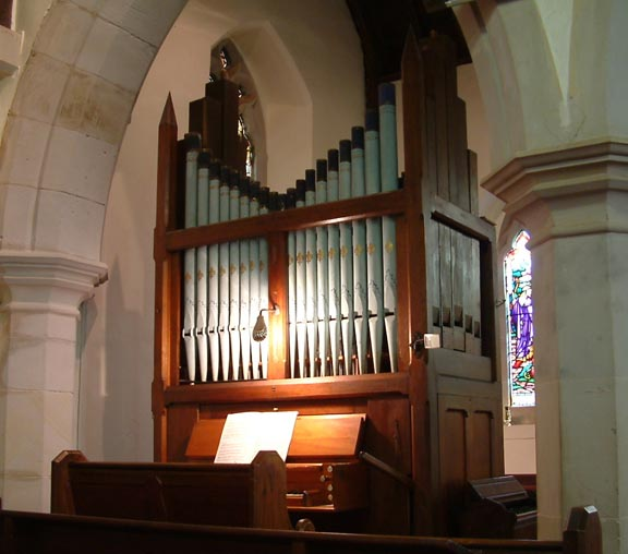 Organ, St Marys Anglican Church