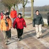 Wandeling Ouderen in Beweging, 09-02-2012