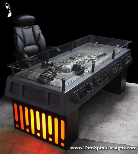 Han Carbonite Star Wars Furniture desk 1 1
