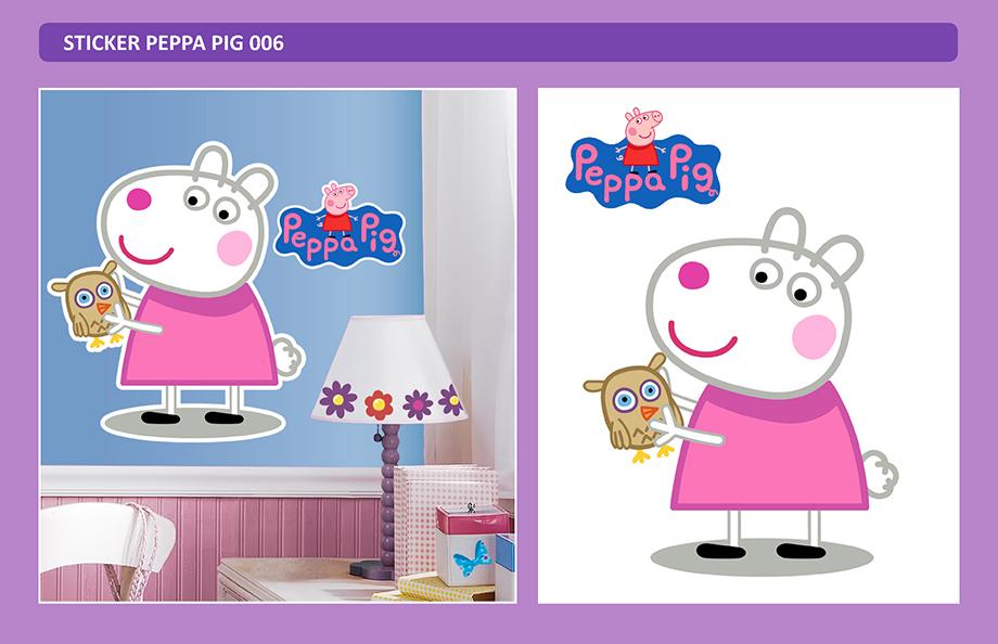Peppa Pig - Sticker Adhesivo Gigante - Arteygraficadigital