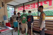 Respon Keluhan Warga, Kapolsek Marioriwawo Amankan 3 Meriam Kaleng