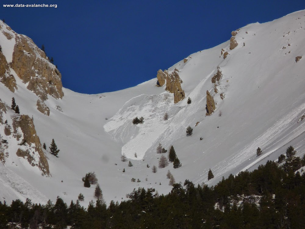 Avalanche Queyras, secteur Sommet d'Assan - Photo 1