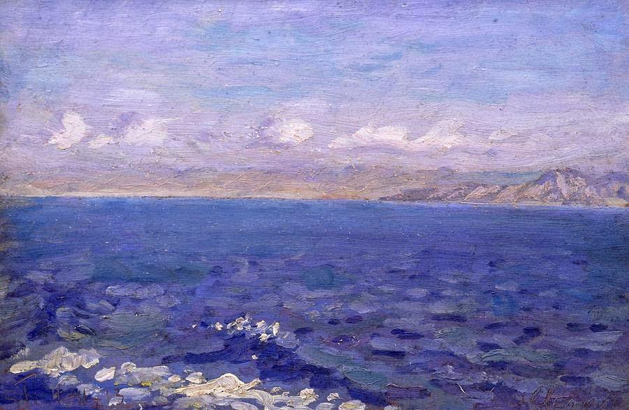 Laurits Tuxen - The Albanian Sea